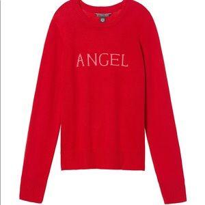 NWOT Victoria's Secret Red Angel Sweater, XS